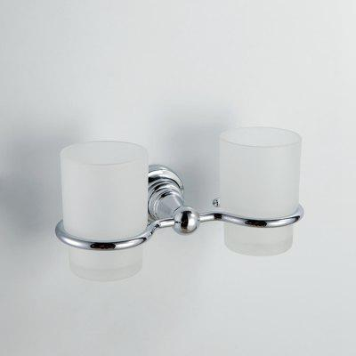 MLFALLS Bathroom Wall Mounted Double Tumbler Holder