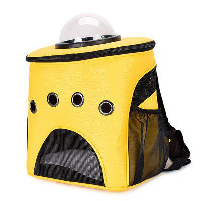 Space Capsule Astronaut Outdoor Pet Bubble Backpack