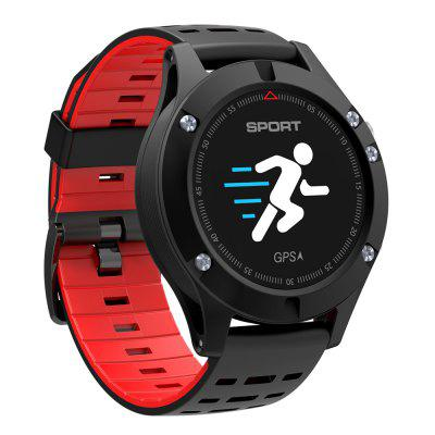 NO.1 F5 Smart Watch Android iOS CompatibleSmart Watches<br>NO.1 F5 Smart Watch Android iOS Compatible<br><br>Alert type: Vibration<br>Available Color: Gray,Green,Red<br>Band material: Silicone<br>Band size: 29.50 x 2.10 cm / 11.61 x 0.83 inches<br>Battery  Capacity: 380mAh<br>Bluetooth calling: Caller ID display,Callers name display,Phone call reminder<br>Bluetooth Version: Bluetooth 4.0<br>Brand: NO.1<br>Built-in chip type: NRF52832<br>Case material: Zinc Alloy<br>Charging Time: About 2hours<br>Compatability: Android 4.4 / iOS 9.0 and Above Systems<br>Compatible OS: IOS, Android<br>Dial size: 4.20 x 4.20 x 1.08 cm / 1.65 x 1.65 x 0.43 inches<br>Find phone: Yes<br>Groups of alarm: 3<br>Health tracker: Heart rate monitor,Sedentary reminder,Sleep monitor<br>IP rating: IP67<br>Language: Czech,English,French,German,Italian,Japanese,Polish,Portuguese,Russian,Simplified Chinese,Spanish,Thai,Traditional Chinese<br>Messaging: Message reminder<br>Notification: Yes<br>Notification type: WhatsApp, Twitter, Facebook, Wechat<br>Operating mode: Press button, Touch Screen<br>Other Function: Thermometer, Siri, GPS, Brightness Adjusting, Altimeter, Alarm<br>Package Contents: 1 x Smart Watch, 1 x English User Manual, 1 x Charging Cable<br>Package size (L x W x H): 10.00 x 8.00 x 7.00 cm / 3.94 x 3.15 x 2.76 inches<br>Package weight: 0.1400 kg<br>People: Female table,Male table<br>Product size (L x W x H): 29.50 x 4.20 x 1.08 cm / 11.61 x 1.65 x 0.43 inches<br>Product weight: 0.1050 kg<br>RAM: 64K<br>Remote control function: Remote Camera<br>ROM: 512K<br>Screen: OLED<br>Screen resolution: 96 x 64<br>Screen size: 0.95 inch<br>Shape of the dial: Round<br>Standby time: About 7 - 15 days<br>Type of battery: Polymer Battery<br>Waterproof: Yes