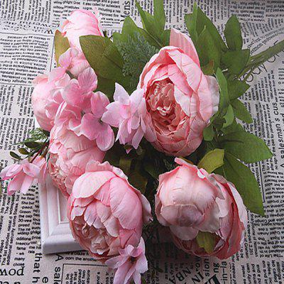 Home Decoration Artificial Peony 1 Bunch