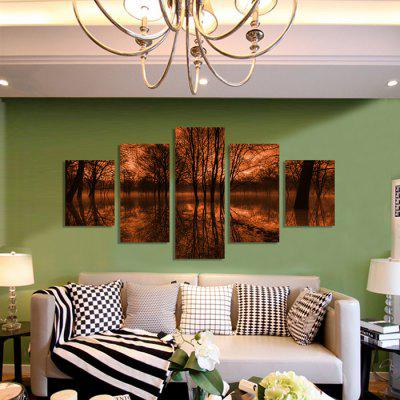 God Painting Canvas Prints Forest Hanging Wall Art 5PCSPrints<br>God Painting Canvas Prints Forest Hanging Wall Art 5PCS<br><br>Brand: God Painting<br>Craft: Print<br>Form: Five Panels<br>Material: Canvas<br>Package Contents: 5 x Print<br>Package size (L x W x H): 42.00 x 6.00 x 6.00 cm / 16.54 x 2.36 x 2.36 inches<br>Package weight: 0.4000 kg<br>Painting: Without Inner Frame<br>Product weight: 0.3600 kg<br>Shape: Vertical<br>Style: Modern<br>Subjects: Landscape<br>Suitable Space: Living Room