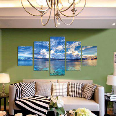 God Painting Canvas Prints Clear Sky Hanging Wall Art 5PCSPrints<br>God Painting Canvas Prints Clear Sky Hanging Wall Art 5PCS<br><br>Brand: God Painting<br>Craft: Print<br>Form: Five Panels<br>Material: Canvas<br>Package Contents: 5 x Print<br>Package size (L x W x H): 42.00 x 6.00 x 6.00 cm / 16.54 x 2.36 x 2.36 inches<br>Package weight: 0.4000 kg<br>Painting: Without Inner Frame<br>Product weight: 0.3600 kg<br>Shape: Vertical<br>Style: Modern<br>Subjects: Landscape<br>Suitable Space: Living Room
