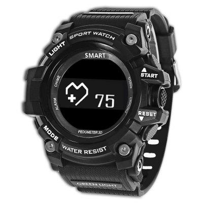 Buy Zeblaze MUSCLE HR Smartwatch BLACK for $34.55 in GearBest store