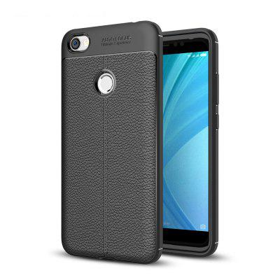 Luanke Lichee PU + TPU Cover Case for Xiaomi Redmi Note 5A