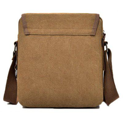 Men Multifunctional Leather-trimmed Canvas Shoulder BagCrossbody Bags<br>Men Multifunctional Leather-trimmed Canvas Shoulder Bag<br><br>Closure Type: Zip<br>Features: Wearable<br>For: Daily Use, Traveling, Shopping, Outdoor<br>Gender: Men<br>Material: Polyester, Canvas<br>Package Size(L x W x H): 25.00 x 20.00 x 3.00 cm / 9.84 x 7.87 x 1.18 inches<br>Package weight: 0.5000 kg<br>Packing List: 1 x Shoulder Bag<br>Product weight: 0.4800 kg<br>Style: Fashion, Casual<br>Type: Shoulder bag