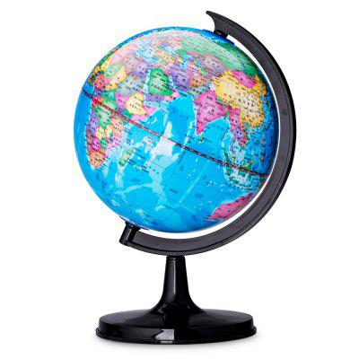 Deli 2032 Geographic World Globe with Stand Teaching Tool