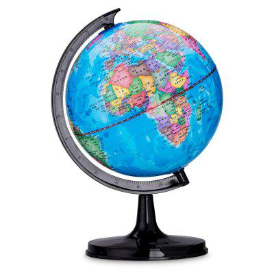 Deli 2032 Geographic World Globe with Stand Teaching ToolSchool Supplies<br>Deli 2032 Geographic World Globe with Stand Teaching Tool<br><br>Brand: Deli<br>Features: Waterproof<br>Package Contents: 1 x World Globe<br>Package size (L x W x H): 15.00 x 16.00 x 25.00 cm / 5.91 x 6.3 x 9.84 inches<br>Package weight: 0.2700 kg<br>Product size (L x W x H): 13.20 x 14.20 x 23.00 cm / 5.2 x 5.59 x 9.06 inches<br>Product weight: 0.2500 kg