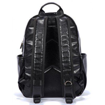 Stylish Textured PU Laptop BackpackBackpacks<br>Stylish Textured PU Laptop Backpack<br><br>Closure Type: Zip<br>Features: Wearable, Water Bottle Pocket<br>For: Shopping, Outdoor, Daily Use<br>Gender: Men<br>Material: PU<br>Package Size(L x W x H): 33.00 x 4.00 x 45.00 cm / 12.99 x 1.57 x 17.72 inches<br>Package weight: 0.7700 kg<br>Packing List: 1 x Backpack<br>Product weight: 0.7500 kg<br>Style: Casual, Business<br>Type: Backpacks