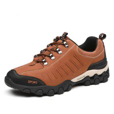 Male Breathable Outdoor Climbing Sneaker Hiking Shoes