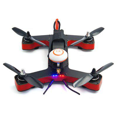 VIFLY R220 220mm Brushless FPV Racing Drone - BNFBrushless FPV Racer<br>VIFLY R220 220mm Brushless FPV Racing Drone - BNF<br><br>Burst Current: 30A<br>Continuous Current: 25A<br>Firmware: BLHeli-S<br>Flight Controller Type: F4<br>Functions: Oneshot125, DShot300, DShot150, Oneshot42, DShot600, Multishot<br>KV: 2600<br>Model: 2205<br>Motor Type: Brushless Motor<br>Package Contents: 1 x Drone, 4 x DAL 5045BN Propeller, 4 x DAL T5045 Propeller, 4 x Landing Strut, 1 x Pack of Screws<br>Package size (L x W x H): 37.00 x 27.00 x 13.00 cm / 14.57 x 10.63 x 5.12 inches<br>Package weight: 1.3000 kg<br>Product size (L x W x H): 20.00 x 19.50 x 7.50 cm / 7.87 x 7.68 x 2.95 inches<br>Product weight: 0.4500 kg<br>Sensor: CMOS<br>Type: Frame Kit<br>Version: BNF<br>Video Resolution: 700TVL ( horizontal )