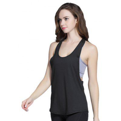 Simple Comfortable Sleeveless Sports Vest for WomenYoga<br>Simple Comfortable Sleeveless Sports Vest for Women<br><br>Features: Breathable<br>Gender: Female<br>Material: Polyester, Spandex<br>Package Content: 1 x Vest<br>Package size: 17.00 x 20.50 x 1.00 cm / 6.69 x 8.07 x 0.39 inches<br>Package weight: 0.0920 kg<br>Product weight: 0.0822 kg<br>Type: Vest