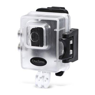 Quelima 30m IPX8 Waterproof Camera Shell for R3 Sport DV
