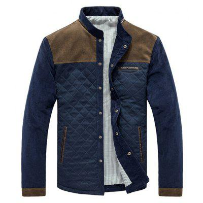 Male Casual Comfortable Corduroy Winter Jacket