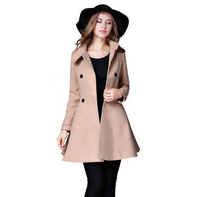 Double Breasted Tunic Waist Coat for Women