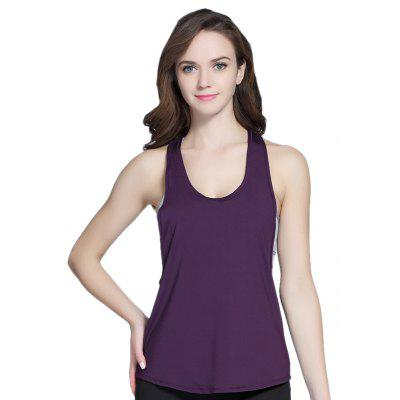 Simple Comfortable Sleeveless Sports Vest for Women