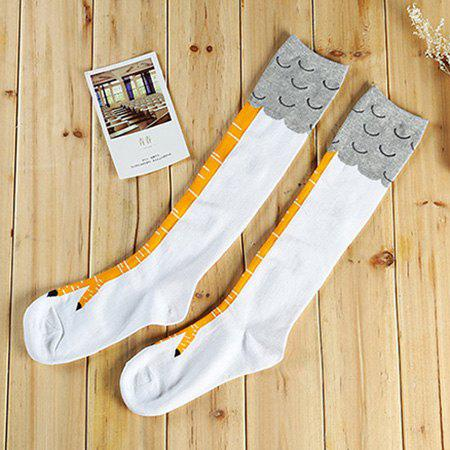 Creative Chicken Claw Pattern Breathable Unisex Socks