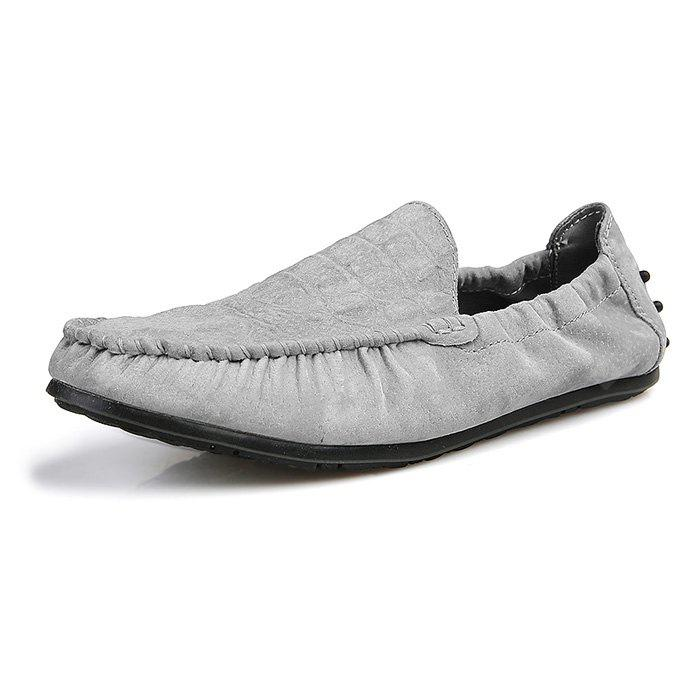 Fashion Gommino Pig Leather Driving Shoes