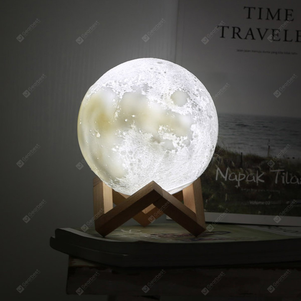 Creative Moon Style Light Desk Decoration 7 10 Free