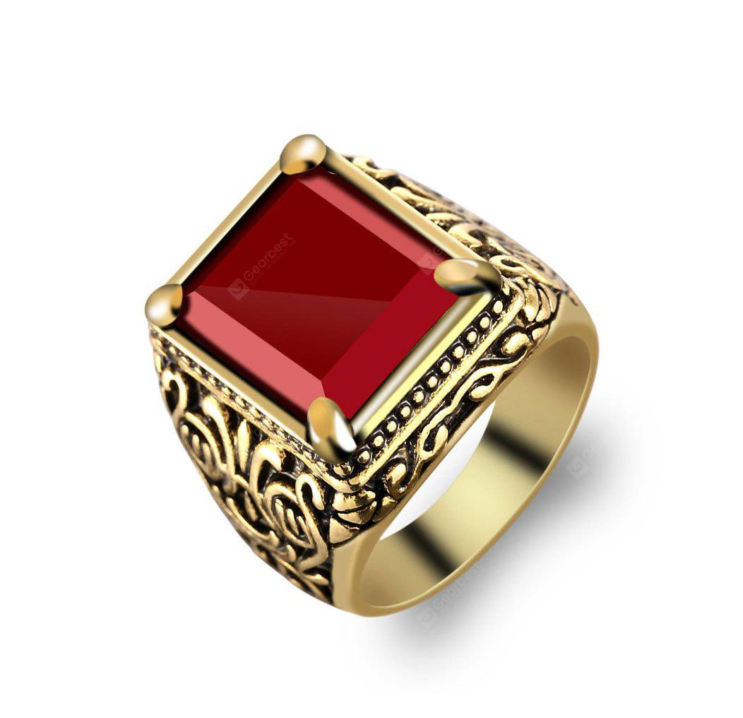 Classic Alloy Plated Ring for Men