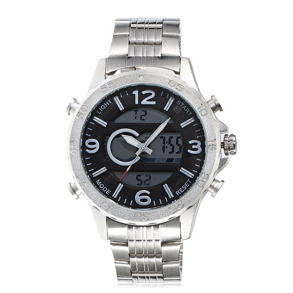 6.11 895 Stylish Steel Band Sports Men Watch