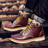 Men CTSmart Chic Warmest Ankle-top Snow Boots - RED