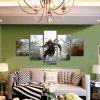 God Painting Canvas Prints Figure Hanging Wall Art 5PCS - COLORMIX