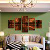 God Painting Canvas Prints Forest Hanging Wall Art 5PCS - COLORMIX