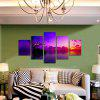 God Painting Canvas Prints Sunset Hanging Wall Art 5PCS - COLORMIX