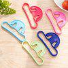 Portable Hanging Ring Practical Shopping Bag Helper 1PC - COLORMIX