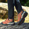 Male Breathable Outdoor Climbing Sneaker Hiking Shoes - BROWN