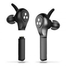 Syllable D9x Battery Plug-in True Wireless Headset with Metal Charge Case