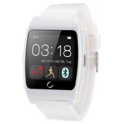 U Watch Ux Heart Rate Monitors Rubber Band Smart Watch
