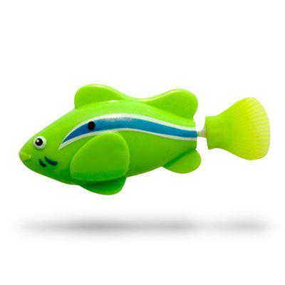 Fish Style Electronic Sensing Bath Toy 5PCSNovelty Toys<br>Fish Style Electronic Sensing Bath Toy 5PCS<br><br>Features: Educational, Bath / Wash, Battery Operated, Cartoon, Creative Toy<br>Materials: Plastic<br>Package Contents: 5 x Bath Toy, 2 x Button Battery<br>Package size: 20.00 x 5.00 x 4.00 cm / 7.87 x 1.97 x 1.57 inches<br>Package weight: 0.1400 kg<br>Product size: 8.00 x 3.20 x 3.50 cm / 3.15 x 1.26 x 1.38 inches<br>Product weight: 0.1300 kg<br>Series: Entertainment,Fashion,Lifestyle<br>Theme: Animals