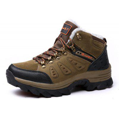 Male Outdoor Hiking Soft Warmest Athletic ShoesAthletic Shoes<br>Male Outdoor Hiking Soft Warmest Athletic Shoes<br><br>Closure Type: Lace-Up<br>Contents: 1 x Pair of Shoes, 1 x Box<br>Function: Slip Resistant<br>Lining Material: Velvet<br>Materials: Rubber, Velvet, PU<br>Occasion: Sports, Shopping, Riding, Casual, Daily, Running, Holiday, Outdoor Clothing<br>Outsole Material: Rubber<br>Package Size ( L x W x H ): 32.00 x 23.00 x 13.00 cm / 12.6 x 9.06 x 5.12 inches<br>Package Weights: 1.17kg<br>Seasons: Autumn,Winter<br>Style: Modern, Leisure, Fashion, Comfortable, Casual<br>Toe Shape: Round Toe<br>Type: Sports Shoes<br>Upper Material: PU