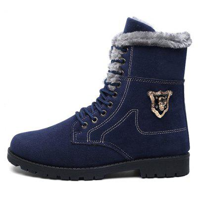 Male Casual Warm Suede Ankle BootsMens Boots<br>Male Casual Warm Suede Ankle Boots<br><br>Closure Type: Lace-Up<br>Contents: 1 x Pair of Boots<br>Function: Slip Resistant<br>Materials: Suede, Rubber<br>Occasion: Casual, Daily, Outdoor Clothing<br>Outsole Material: Rubber<br>Package Size ( L x W x H ): 33.00 x 24.00 x 13.00 cm / 12.99 x 9.45 x 5.12 inches<br>Package Weights: 0.7kg<br>Seasons: Autumn,Winter<br>Style: Fashion, Comfortable<br>Toe Shape: Round Toe<br>Type: Boots<br>Upper Material: Suede
