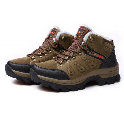 Male Outdoor Hiking Soft Warmest Athletic Shoes