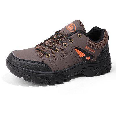 Male Versatile Soft Lightweight Hiking Athletic ShoesAthletic Shoes<br>Male Versatile Soft Lightweight Hiking Athletic Shoes<br><br>Closure Type: Lace-Up<br>Contents: 1 x Pair of Shoes, 1 x Box, 1 x Dustproof Paper<br>Function: Slip Resistant<br>Materials: PU, Rubber, Mesh<br>Occasion: Sports, Shopping, Riding, Outdoor Clothing, Holiday, Daily, Casual, Running<br>Outsole Material: Rubber<br>Package Size ( L x W x H ): 33.00 x 22.00 x 11.00 cm / 12.99 x 8.66 x 4.33 inches<br>Package Weights: 1.05kg<br>Seasons: Autumn,Spring<br>Style: Modern, Leisure, Fashion, Comfortable, Casual<br>Toe Shape: Round Toe<br>Type: Sports Shoes<br>Upper Material: Mesh,PU