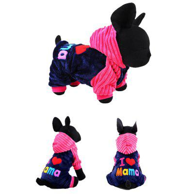 Cute Pet Costume Autumn Winter Dog Cat Party Outfit 1PCDog Clothing &amp; Shoes<br>Cute Pet Costume Autumn Winter Dog Cat Party Outfit 1PC<br><br>For: Cats, Dogs<br>Functions: Cosplay<br>Package Contents: 1 x Pet Costume<br>Package size (L x W x H): 18.00 x 9.00 x 18.00 cm / 7.09 x 3.54 x 7.09 inches<br>Package weight: 0.2500 kg<br>Product weight: 0.2000 kg<br>Season: Winter, Autumn<br>Size: XXS<br>Type: Cloth