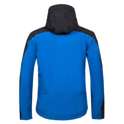 CIKRLAN Windproof Waterproof Splicing Outdoor JacketSports Clothing<br>CIKRLAN Windproof Waterproof Splicing Outdoor Jacket<br><br>Activity: Outdoor Lifestyle<br>Brand: CIKRLAN<br>Features: Windproof, Wear Resistant, Waterproof, Keep Warm, Breathable<br>Gender: Men<br>Material: Polyester Fiber<br>Package Content: 1 x Outdoor Jacket<br>Package size: 30.00 x 20.00 x 10.00 cm / 11.81 x 7.87 x 3.94 inches<br>Package weight: 0.8500 kg<br>Product weight: 0.8000 kg<br>Season: Winter