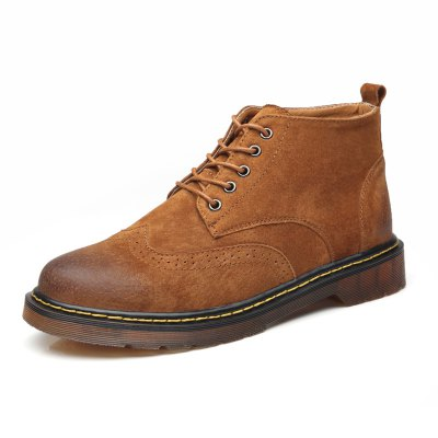 Male Stylish Breathable Soft Martin Ankle BootsMens Boots<br>Male Stylish Breathable Soft Martin Ankle Boots<br><br>Closure Type: Lace-Up<br>Contents: 1 x Pair of Shoes, 1 x Box<br>Function: Slip Resistant<br>Materials: Genuine Leather, Rubber<br>Occasion: Tea Party, Shopping, Party, Office, Holiday, Formal, Dress, Daily, Casual<br>Outsole Material: Rubber<br>Package Size ( L x W x H ): 31.00 x 22.00 x 13.00 cm / 12.2 x 8.66 x 5.12 inches<br>Package Weights: 1.01kg<br>Pattern Type: Solid<br>Seasons: Autumn,Spring<br>Style: Modern, Leisure, Formal, Fashion, Comfortable, Casual, Business<br>Toe Shape: Round Toe<br>Type: Boots<br>Upper Material: Genuine Leather