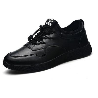 Male Chic Glossy All-dressed Casual SneakersMen's Sneakers<br>Male Chic Glossy All-dressed Casual Sneakers<br><br>Closure Type: Elastic band<br>Contents: 1 x Pair of Shoes, 1 x Box, 1 x Dustproof Paper<br>Function: Slip Resistant<br>Materials: Rubber, PU<br>Occasion: Sports, Shopping, Running, Riding, Party, Rainy Day, Casual, Daily, Holiday, Outdoor Clothing<br>Outsole Material: Rubber<br>Package Size ( L x W x H ): 33.00 x 22.00 x 11.00 cm / 12.99 x 8.66 x 4.33 inches<br>Package Weights: 0.75kg<br>Pattern Type: Solid<br>Seasons: Autumn,Spring,Winter<br>Style: Modern, Leisure, Fashion, Comfortable, Casual<br>Toe Shape: Round Toe<br>Type: Sports Shoes<br>Upper Material: PU