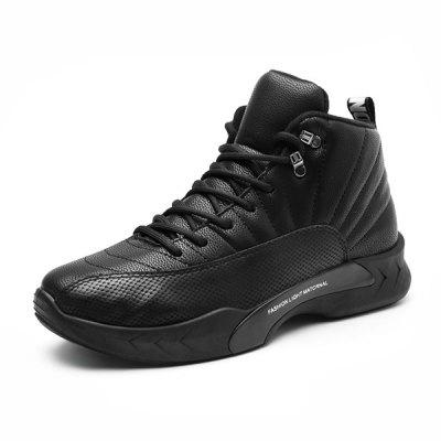 Male Casual Sneakers Basketball Sports ShoesMen's Sneakers<br>Male Casual Sneakers Basketball Sports Shoes<br><br>Closure Type: Lace-Up<br>Contents: 1 x Pair of Shoes<br>Function: Slip Resistant<br>Materials: Rubber, Leather<br>Occasion: Basketball, Sports<br>Outsole Material: Rubber<br>Package Size ( L x W x H ): 33.00 x 24.00 x 13.00 cm / 12.99 x 9.45 x 5.12 inches<br>Package Weights: 0.8kg<br>Seasons: Autumn,Spring,Winter<br>Style: Comfortable, Casual<br>Toe Shape: Round Toe<br>Type: Sports Shoes<br>Upper Material: Leather