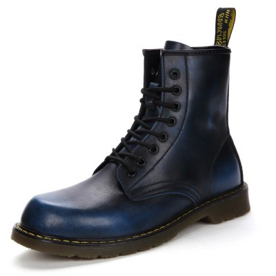 Male Retro British Warmest Classic High-top Martin BootsMens Boots<br>Male Retro British Warmest Classic High-top Martin Boots<br><br>Closure Type: Lace-Up<br>Contents: 1 x Pair of Shoes, 1 x Box, 1 x Dustproof Paper<br>Function: Slip Resistant<br>Lining Material: Velvet<br>Materials: PVC, Velvet, Leather<br>Occasion: Tea Party, Shopping, Riding, Rainy Day, Outdoor Clothing, Casual, Party, Daily, Dress, Holiday, Office<br>Outsole Material: PVC<br>Package Size ( L x W x H ): 33.00 x 22.00 x 11.00 cm / 12.99 x 8.66 x 4.33 inches<br>Package Weights: 1.00kg<br>Pattern Type: Solid<br>Seasons: Autumn,Spring<br>Style: Modern, Business, Casual, Comfortable, Fashion, Leisure<br>Toe Shape: Round Toe<br>Type: Boots<br>Upper Material: Leather