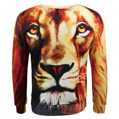 Mr 1991 INC Miss Go Lion Head 3D Printing SweatshirtMens Hoodies &amp; Sweatshirts<br>Mr 1991 INC Miss Go Lion Head 3D Printing Sweatshirt<br><br>Brand: Mr.1991INC&amp;Miss.Go<br>Clothes Type: Sweatshirt<br>Material: Polyester, Spandex<br>Occasion: Casual<br>Package Contents: 1 x Sweatshirt<br>Package size: 38.00 x 30.00 x 2.00 cm / 14.96 x 11.81 x 0.79 inches<br>Package weight: 0.4700 kg<br>Product weight: 0.4500 kg<br>Style: Casual<br>Thickness: Regular