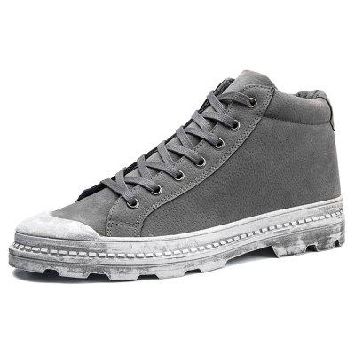Male Quintessential Soft Padded Ankle Casual Leather ShoesCasual Shoes<br>Male Quintessential Soft Padded Ankle Casual Leather Shoes<br><br>Closure Type: Lace-Up<br>Contents: 1 x Pair of Shoes, 1 x Box<br>Function: Slip Resistant<br>Materials: Leather, Rubber<br>Occasion: Tea Party, Shopping, Party, Office, Holiday, Formal, Dress, Daily, Casual<br>Outsole Material: Rubber<br>Package Size ( L x W x H ): 33.00 x 22.00 x 11.00 cm / 12.99 x 8.66 x 4.33 inches<br>Package Weights: 0.85kg<br>Pattern Type: Solid<br>Seasons: Autumn,Spring<br>Style: Modern, Leisure, Formal, Fashion, Comfortable, Casual, Business<br>Toe Shape: Round Toe<br>Type: Casual Leather Shoes<br>Upper Material: Leather