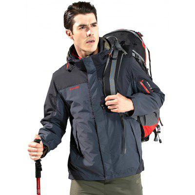 NIAN JEEP Outdoor Jacket with Warm LinerSports Clothing<br>NIAN JEEP Outdoor Jacket with Warm Liner<br><br>Activity: Outdoor Lifestyle<br>Brand: NIAN JEEP<br>Features: Windproof, Wear Resistant, Keep Warm, Breathable<br>Gender: Men<br>Material: Nylon<br>Package Content: 1 x Outdoor Jacket, 1 x Liner<br>Package size: 40.00 x 30.00 x 2.00 cm / 15.75 x 11.81 x 0.79 inches<br>Package weight: 1.6400 kg<br>Product weight: 1.5000 kg<br>Season: Winter