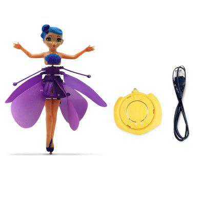 Electric Induction Hover Flying FairyNovelty Toys<br>Electric Induction Hover Flying Fairy<br><br>Features: Battery Operated, Creative Toy<br>Materials: ABS<br>Package Contents: 1 x Induction Toy, 1 x USB Cable, 1 x Remote Controller<br>Package size: 17.00 x 7.00 x 21.00 cm / 6.69 x 2.76 x 8.27 inches<br>Package weight: 0.1600 kg<br>Product size: 14.00 x 5.00 x 19.00 cm / 5.51 x 1.97 x 7.48 inches<br>Product weight: 0.1300 kg<br>Series: Entertainment,Fantasy<br>Theme: Fairytale Theme