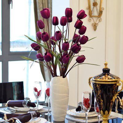 Fake Tulips Decorative Artificial Flowers