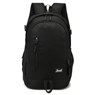Buy Men Trendy Large Capacity Laptop Backpack BLACK for $18.65 in GearBest store