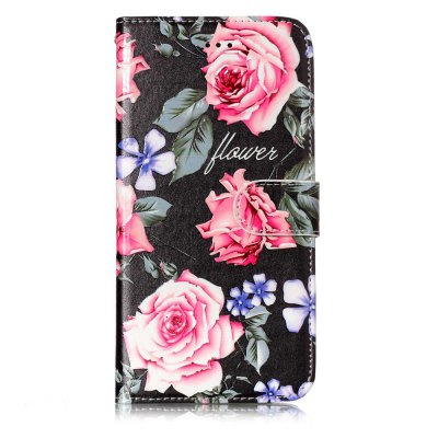 Capa Protetora Estilo Flor Colorida para iPhone 7 Plus / 8 Plus